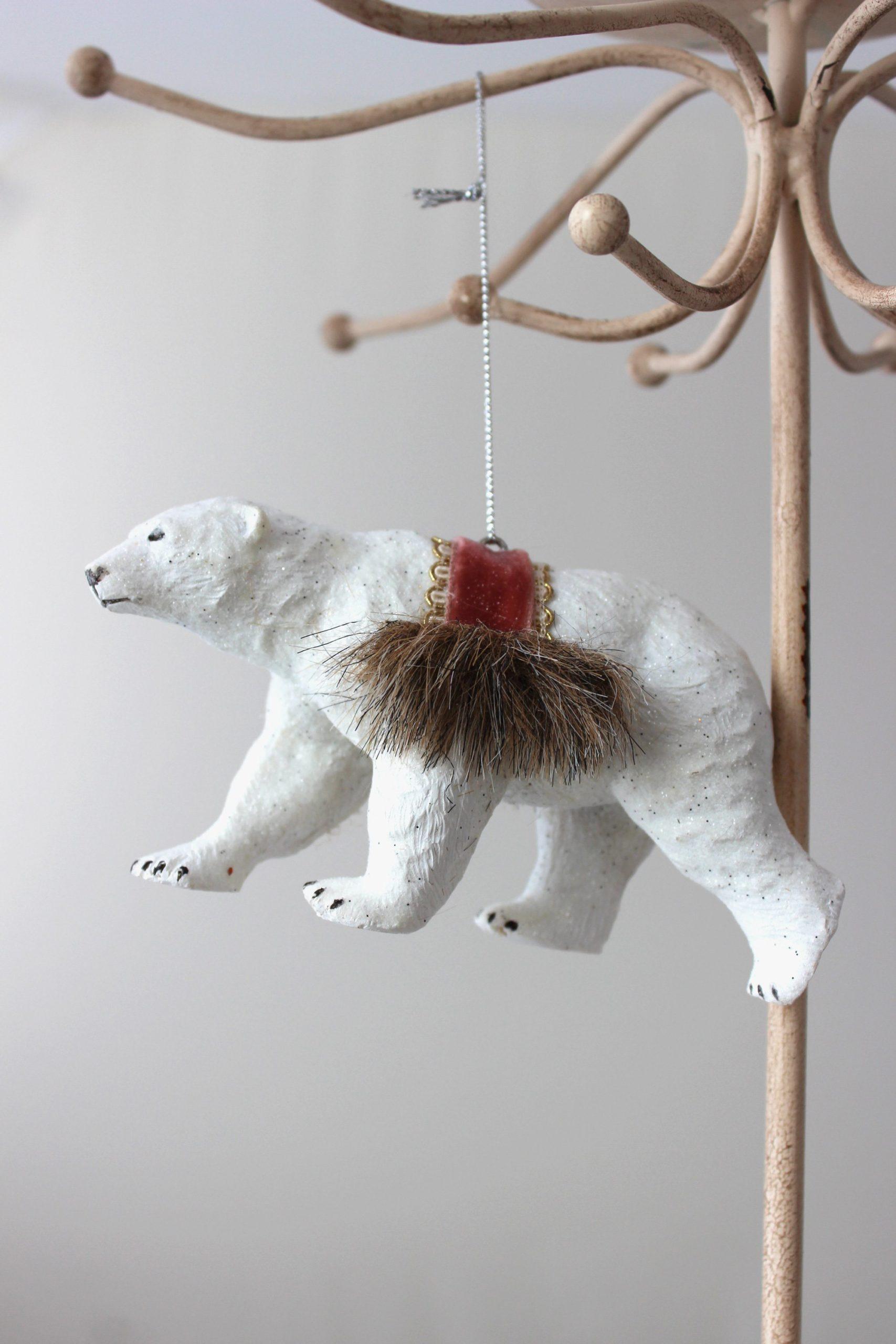 Dream Keeper Polar Bear Ornament SALE Half Off Holiday