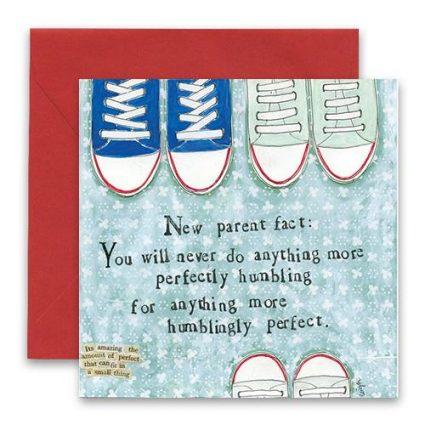 Humblingly Greeting Card