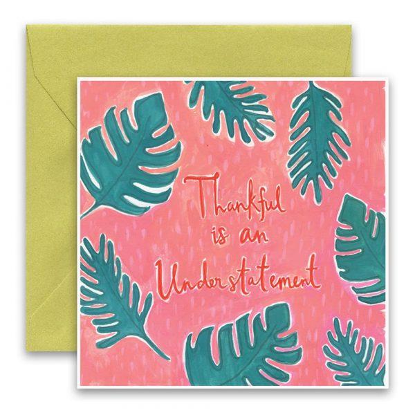 Thankful Greeting Card