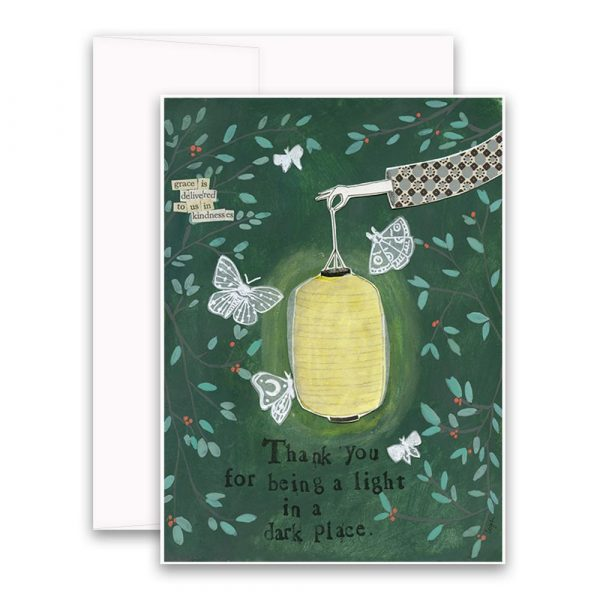 Light in a Dark Place Greeting Card