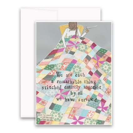 Stitched Together Greeting Card