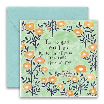 Same Time Greeting Card