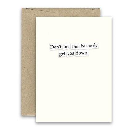 Bastards ' Simply Put ' Card