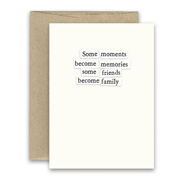 Become Family ' Simply Put ' Card
