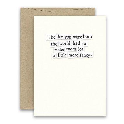 Fancy ' Simply Put ' Card