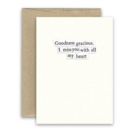Goodness Gracious ' Simply Put ' Card