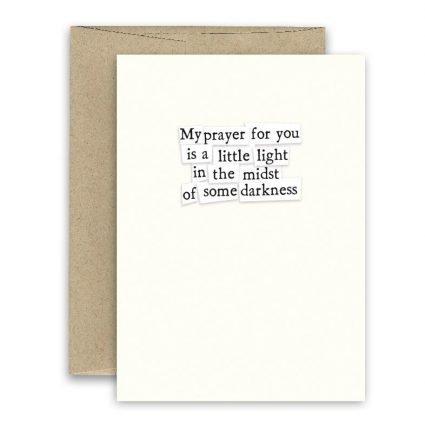 Prayer For You ' Simply Put ' Card