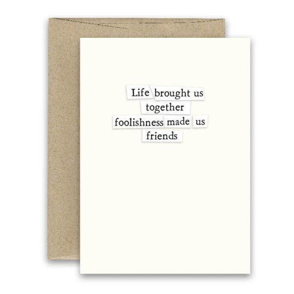 Foolishness ' Simply Put ' Card