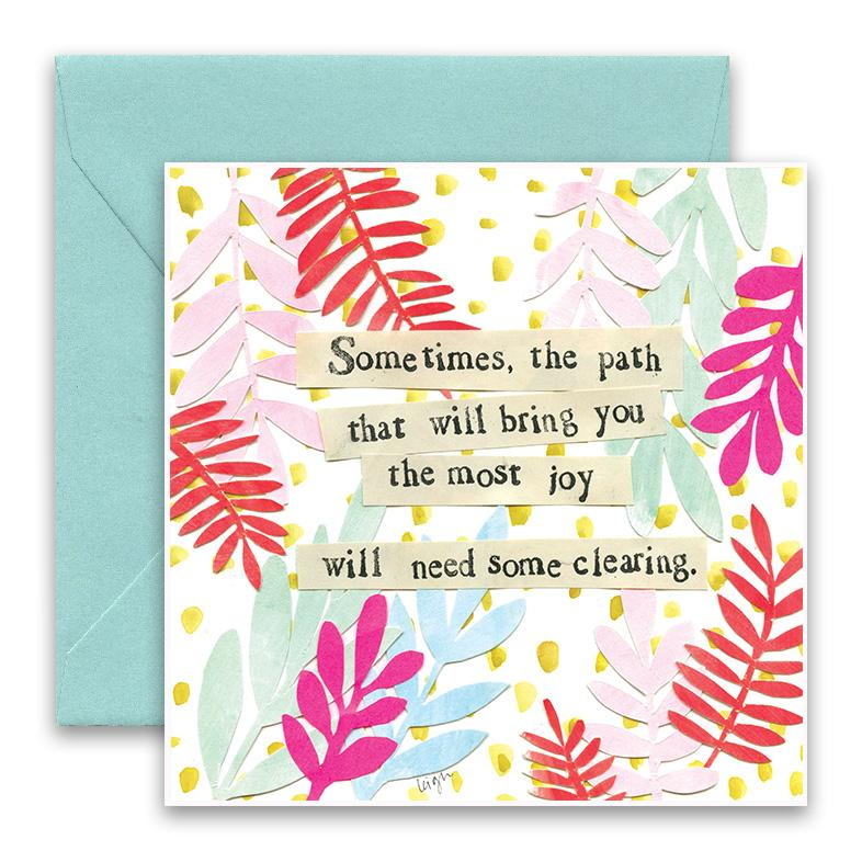 Needs Clearing Greeting Card