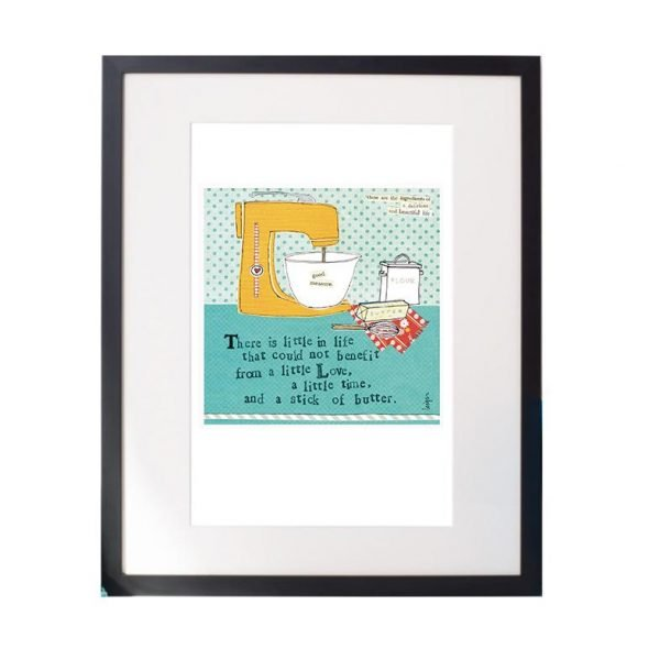 Stick Of Butter Matted Print