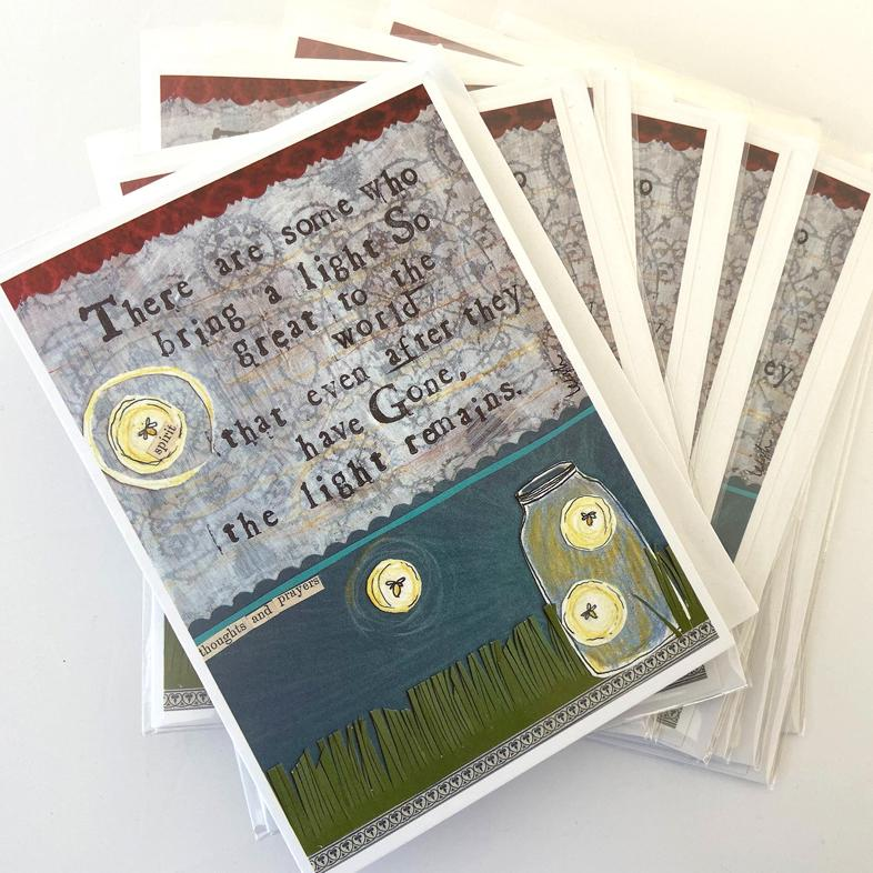 Light Remains Greeting Card Bundle Pack 12 cards for $40!!