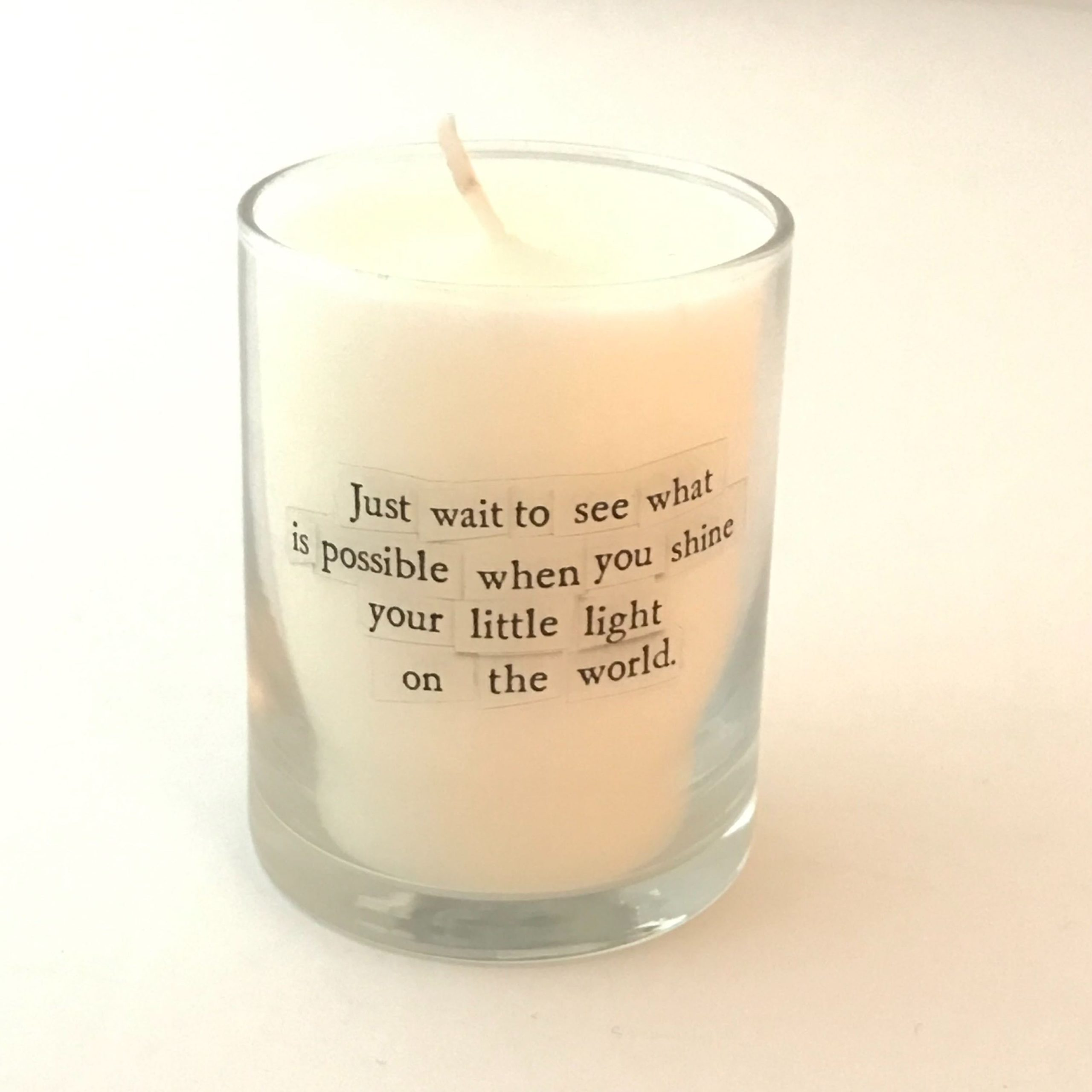 Shine Your Light Mini Candle