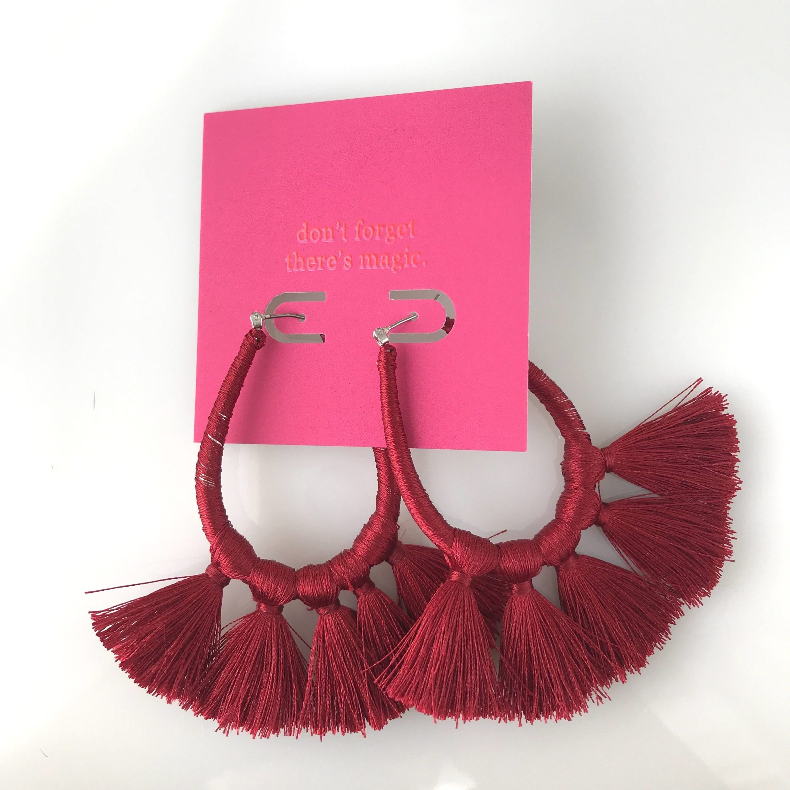 Souks Tassel Earrings