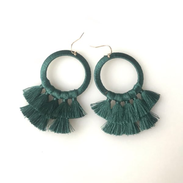 Festooning Earrings