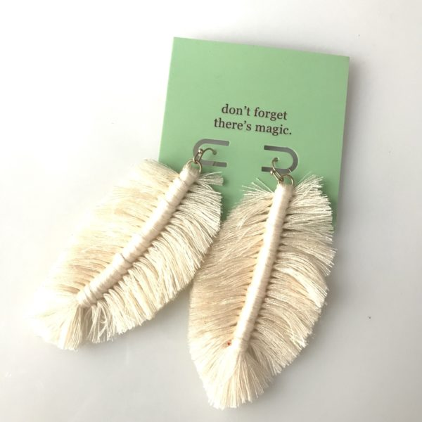 Magnificent Feathers Earrings