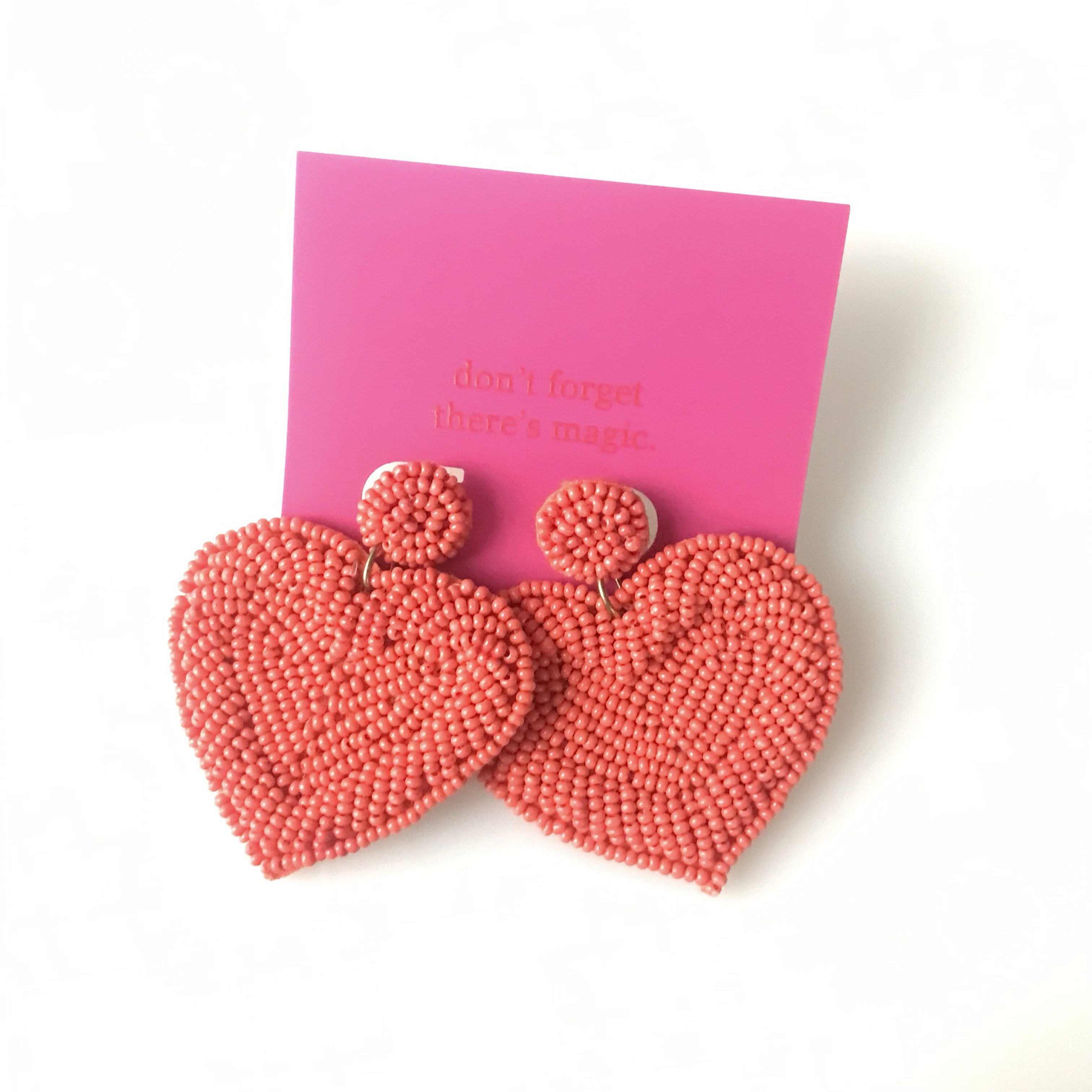 Full Tilt Heart Earrings