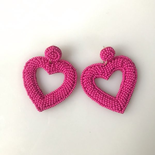My Heart is with Your Heart Earrings
