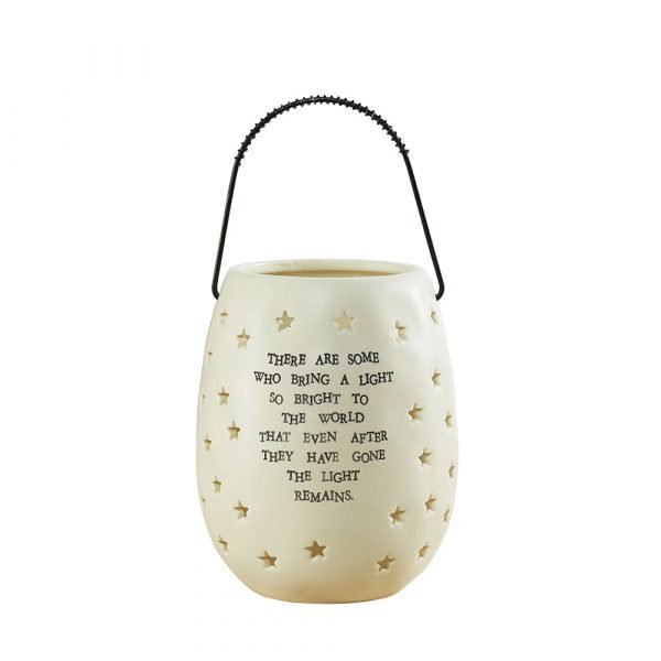 Sympathy Gift Ceramic Garden Lantern
