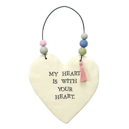 Inspirational Ceramic Heart