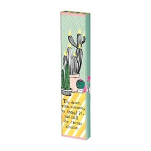 "Cactus Blooms 13"" Mini Art Pole"