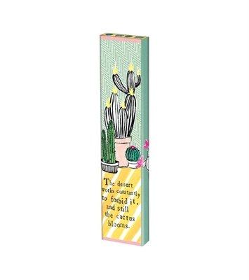 "Cactus Blooms 13"" Mini Art Pole"