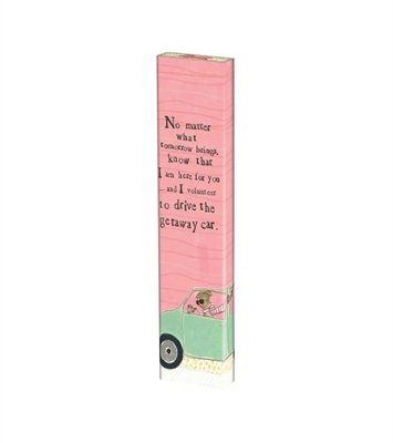 "No Matter What 13"" Mini Art Pole"