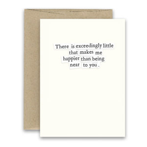 Exceedingly Little ' Simply Put ' Card