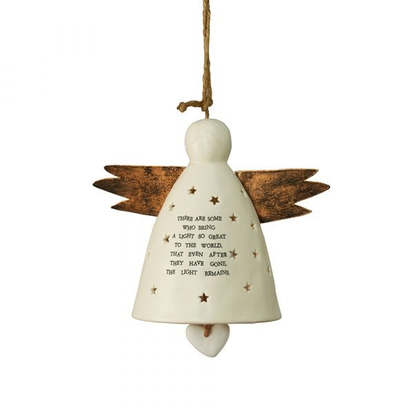 The Light Remains Angel Bell - Remembrance Gift
