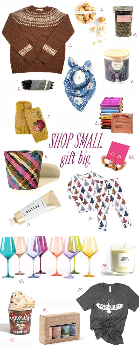 2020 Gift Guide – Shop Small. Give Big.