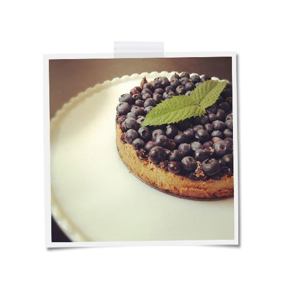 End of Summer Blueberry Kuchen