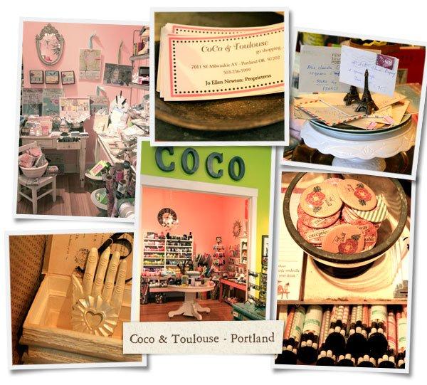 Shop Tour – Coco & Toulouse, Portland