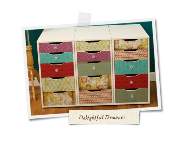 She's Crafty! – 'Delightful Drawers' Tutorial