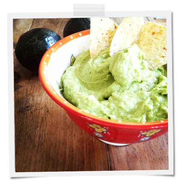 Leigh's Super Fresh Guacamole