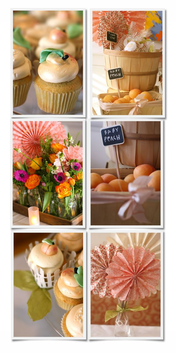 A Peachy Little Baby Shower