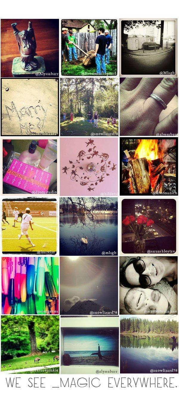 "CGD Instagram Scavenger Hunt: ""Magic"" and ""Delicious"""
